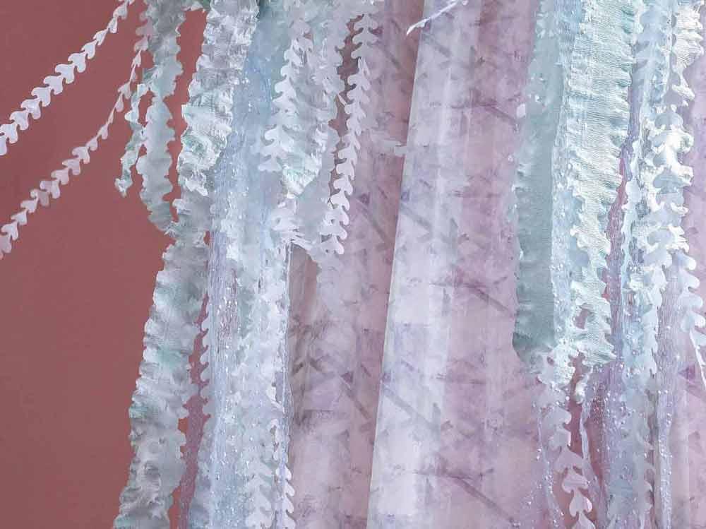 Вид тканей для штор и предметов интерьера