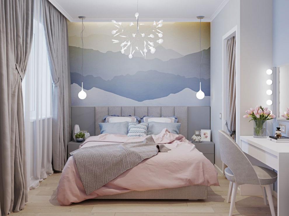 Текстиль в спальне современная классика