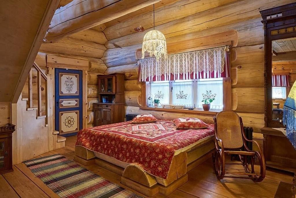 русский стиль текстильного оформления интерьера