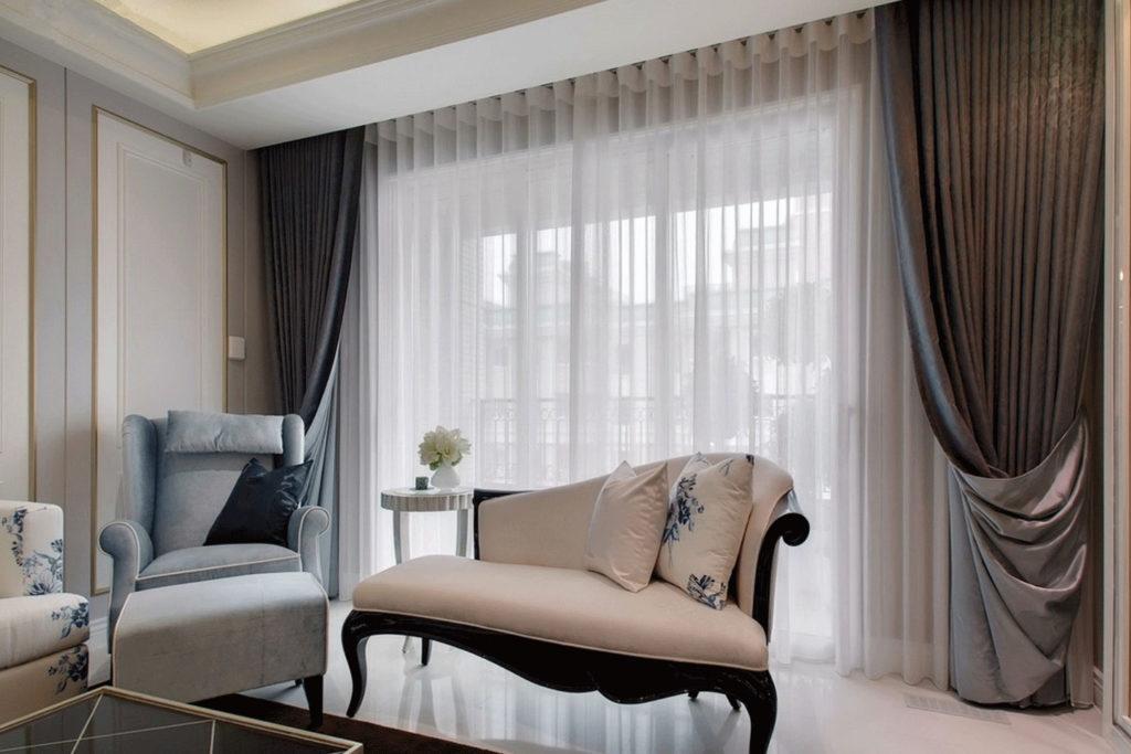 шторы для гостиной модерн