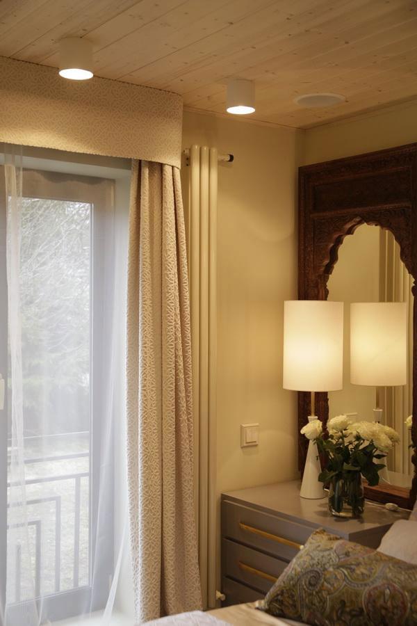 шторы-неоклассика для спальни