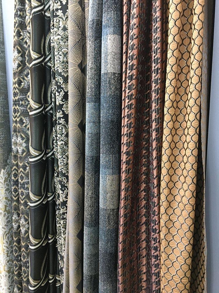 Ткани для штор на московской выставке