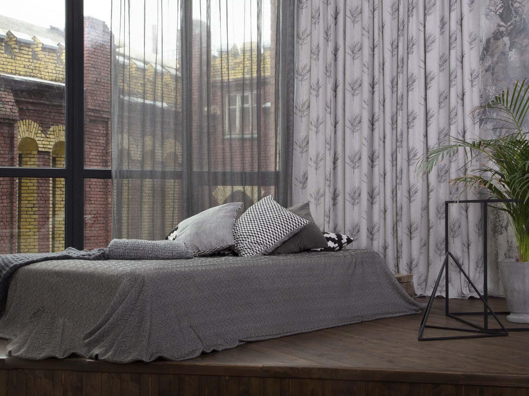 Ткань для спальной комнаты на шторы и покрывало