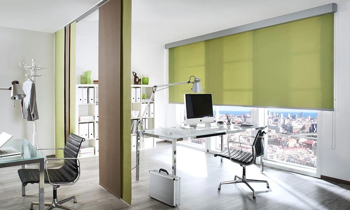 Шторы рулонные для офиса Выезд дизайнера на замер бесплатно