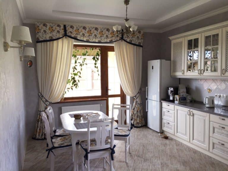 Шторы на кухню в москве и подмосковье заказать по хорошей цене