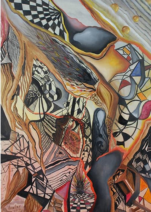 Картина Левона Восканяна-8 интерьерный текстиль