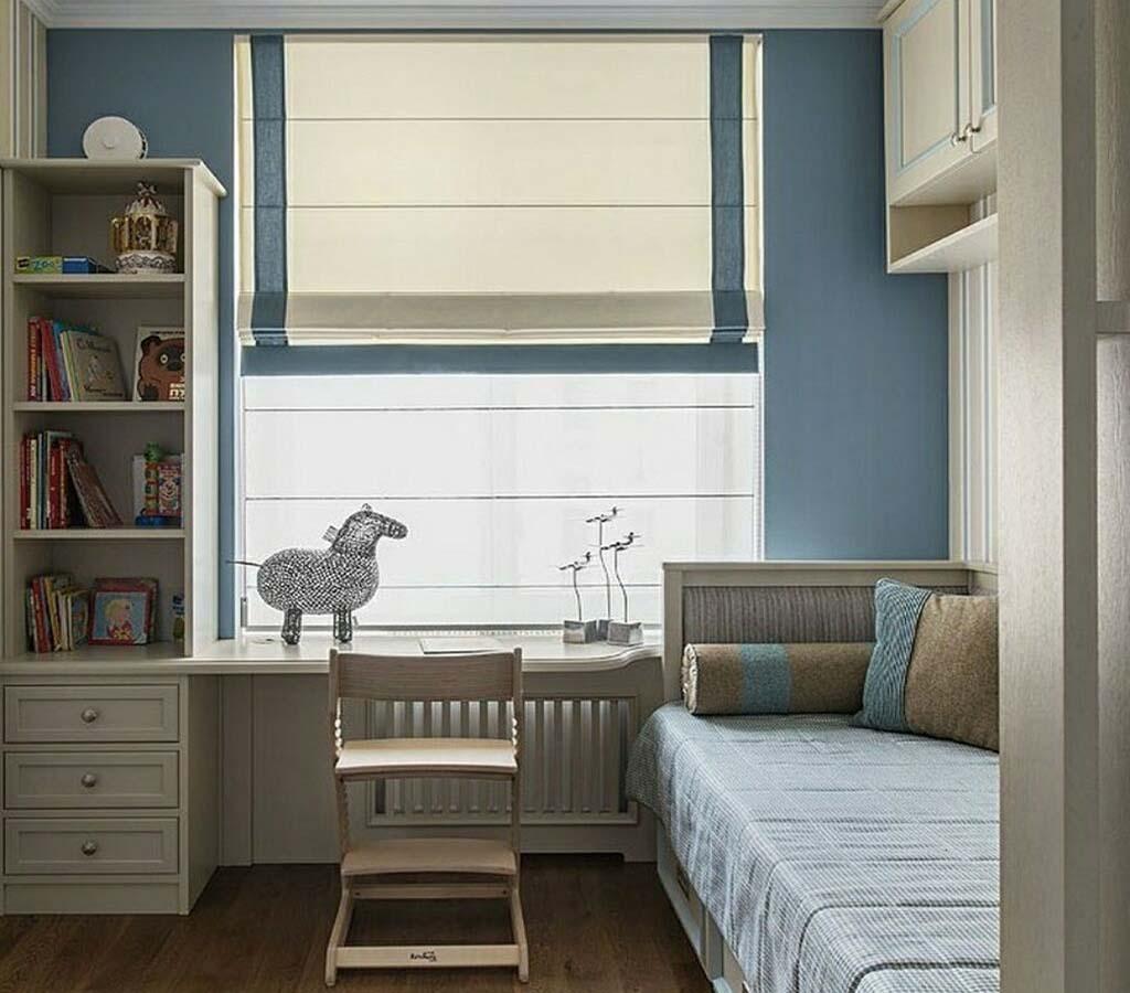 Римская штора в комнату девочки подростка