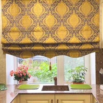 Римская штора на кухню заказать в москве не дорого в балашихе лучшие ткани